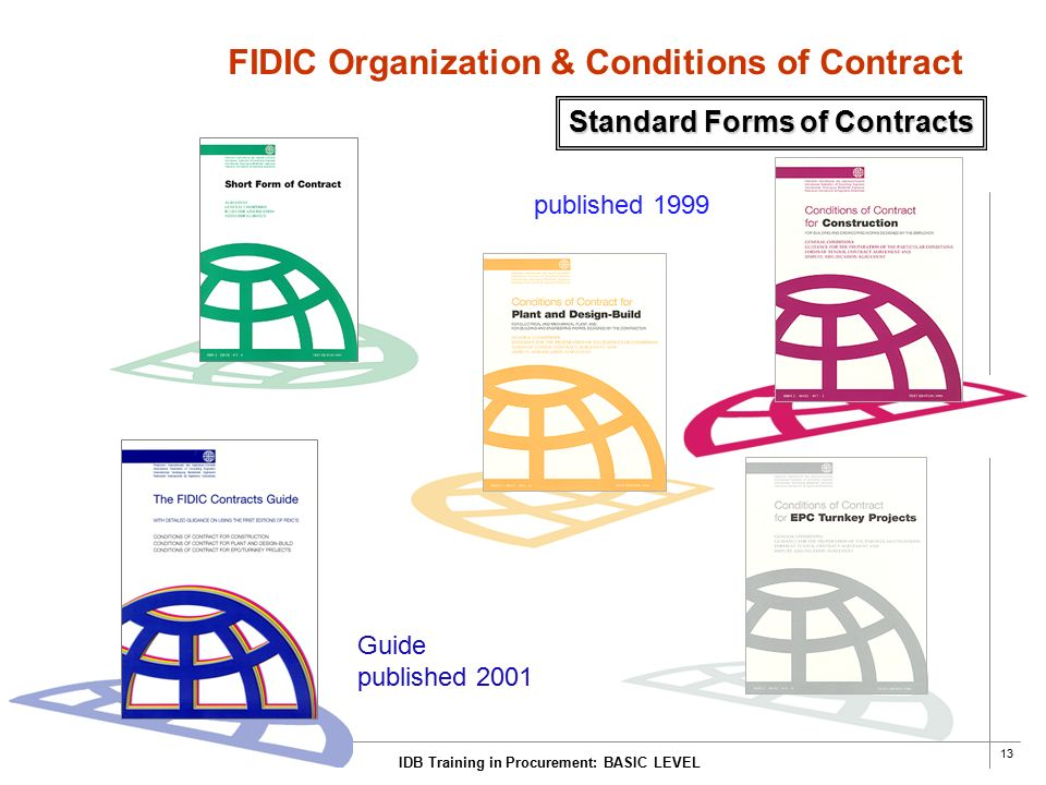 The 1999 Fidic Contracts Comparision On Different Views