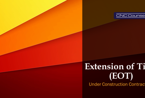Extension of Time under Construction Contracts