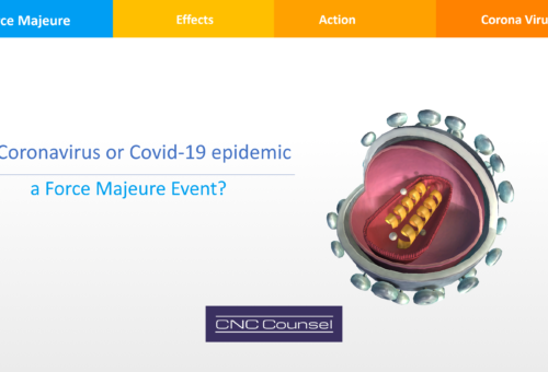 Is Coronavirus or Covid-19 epidemic a Force Majeure Event?