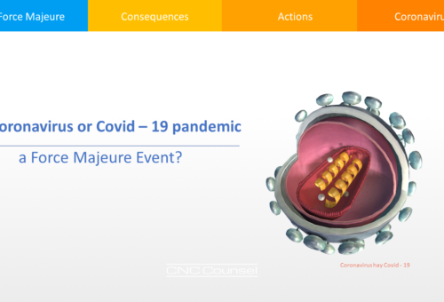 Is Coronavirus or Covid-19 pandemic a Force Majeure Event?
