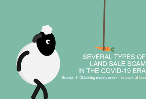 SEVERAL TYPES OF LAND SALE SCAMS IN THE COVID-19 ERA:  OBTAINING MONEY UNDER THE COVER OF A LOAN