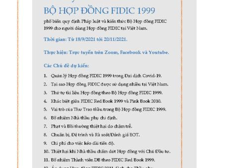 12 chuyên đề Hợp đồng FIDIC 1999